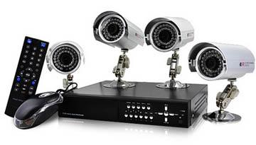 Kit video sorveglianza economici e di qualit prezzi e - Impianto allarme casa prezzi ...