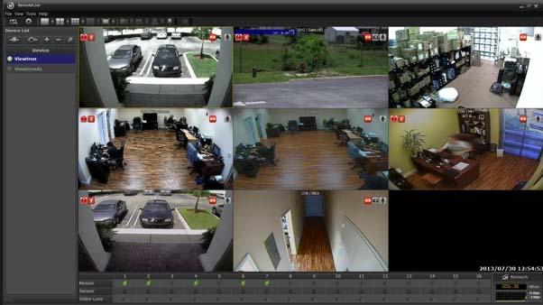 software di controllo telecamere